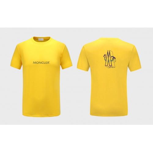 Moncler T-Shirts Short Sleeved For Men #838560