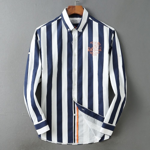Hermes Shirts Long Sleeved For Men #838578 $40.00 USD, Wholesale Replica Hermes Shirts