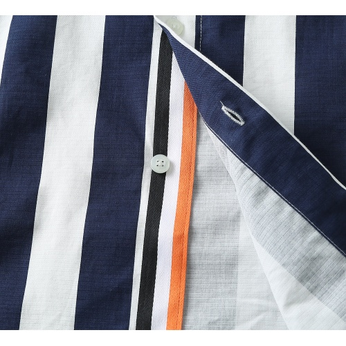 Replica Hermes Shirts Long Sleeved For Men #838578 $40.00 USD for Wholesale