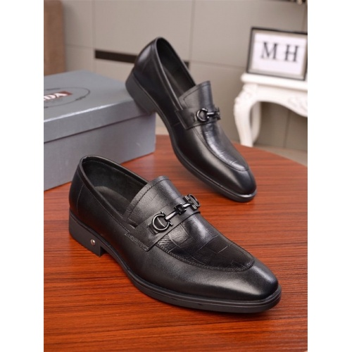 Prada Leather Shoes For Men #838619