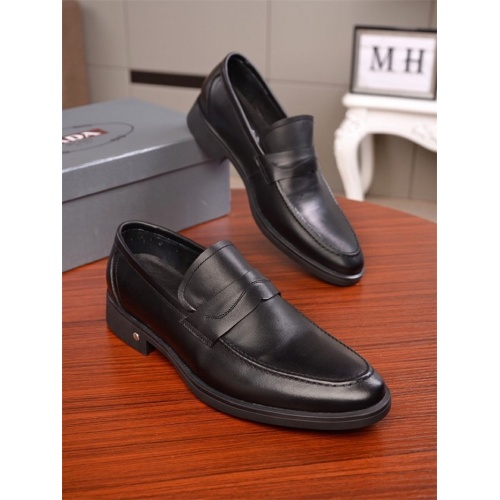 Prada Leather Shoes For Men #838620