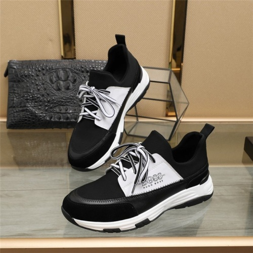 Boss Casual Shoes For Men #838650 $80.00, Wholesale Replica Boss Fashion Shoes