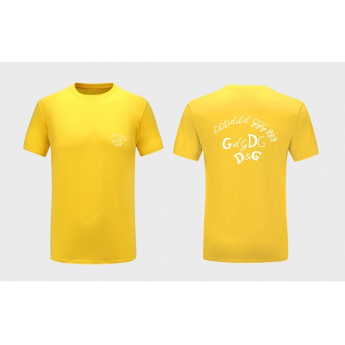 Dolce & Gabbana D&G T-Shirts Short Sleeved For Men #838741 $27.00, Wholesale Replica Dolce & Gabbana D&G T-Shirts