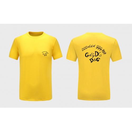 Dolce & Gabbana D&G T-Shirts Short Sleeved For Men #838742