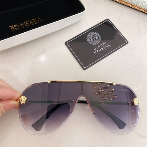 Versace AAA Quality Sunglasses #838761 $45.00, Wholesale Replica Versace AAA+ Sunglasses