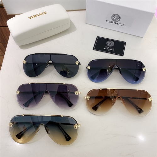 Replica Versace AAA Quality Sunglasses #838764 $45.00 USD for Wholesale