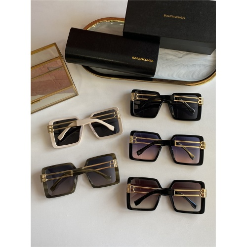 Replica Balenciaga AAA Quality Sunglasses #838796 $60.00 USD for Wholesale
