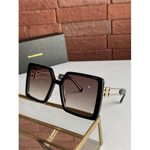 Balenciaga AAA Quality Sunglasses #838797 $60.00 USD, Wholesale Replica Balenciaga AAA Sunglasses