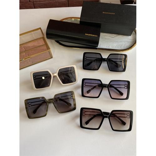 Replica Balenciaga AAA Quality Sunglasses #838797 $60.00 USD for Wholesale