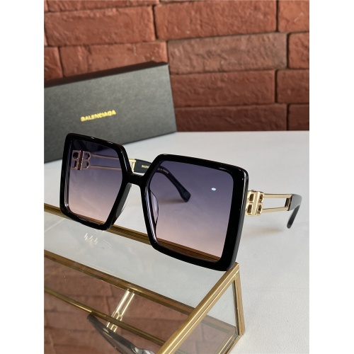 Balenciaga AAA Quality Sunglasses #838798 $60.00 USD, Wholesale Replica Balenciaga AAA Sunglasses