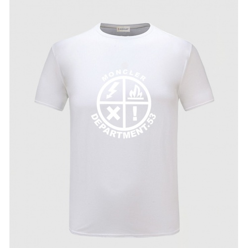 Moncler T-Shirts Short Sleeved For Men #838839