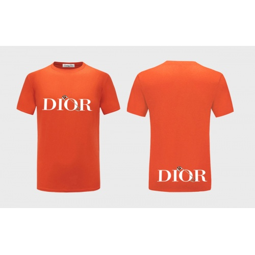 Christian Dior T-Shirts Short Sleeved For Men #838859 $27.00 USD, Wholesale Replica Christian Dior T-Shirts