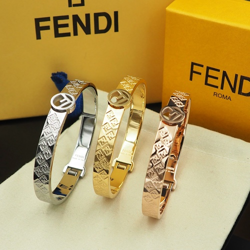 Replica Fendi Bracelet #838931 $29.00 USD for Wholesale