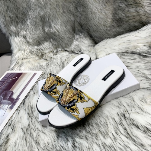 Versace Slippers For Women #839000 $72.00, Wholesale Replica Versace Slippers