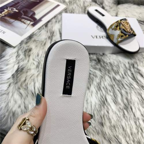 Replica Versace Slippers For Women #839000 $72.00 USD for Wholesale