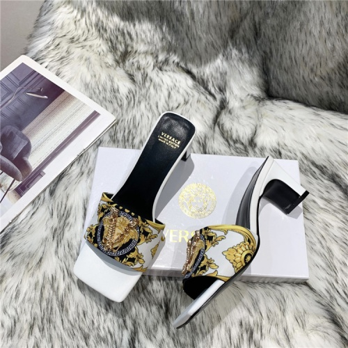 Versace Slippers For Women #839002 $60.00, Wholesale Replica Versace Slippers