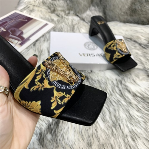 Replica Versace Slippers For Women #839005 $74.00 USD for Wholesale