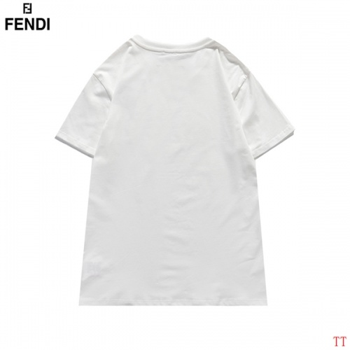 Replica Fendi T-Shirts Short Sleeved For Men #839006 $29.00 USD for Wholesale