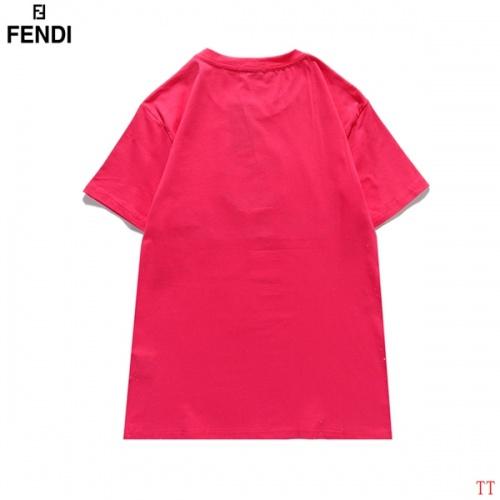 Replica Fendi T-Shirts Short Sleeved For Men #839007 $29.00 USD for Wholesale