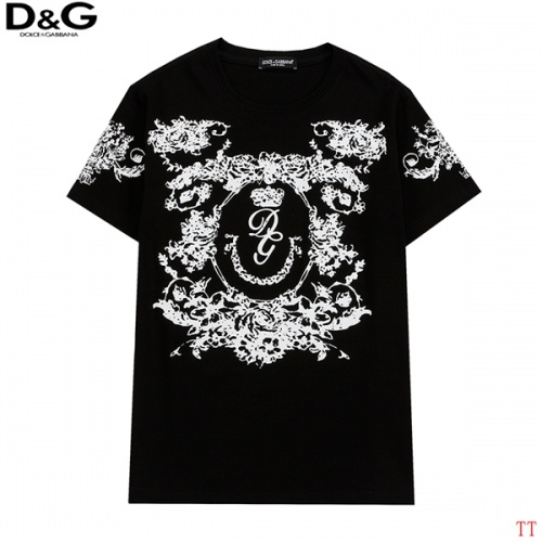 Dolce & Gabbana D&G T-Shirts Short Sleeved For Men #839008 $27.00 USD, Wholesale Replica Dolce & Gabbana D&G T-Shirts