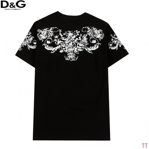 Replica Dolce & Gabbana D&G T-Shirts Short Sleeved For Men #839008 $27.00 USD for Wholesale