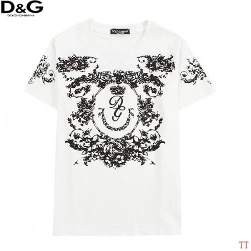 Dolce & Gabbana D&G T-Shirts Short Sleeved For Men #839009 $27.00 USD, Wholesale Replica Dolce & Gabbana D&G T-Shirts