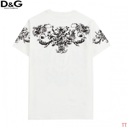Replica Dolce & Gabbana D&G T-Shirts Short Sleeved For Men #839009 $27.00 USD for Wholesale