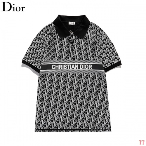 Christian Dior T-Shirts Short Sleeved For Men #839029