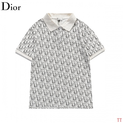 Christian Dior T-Shirts Short Sleeved For Men #839032