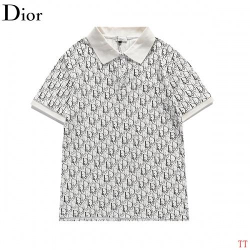 Christian Dior T-Shirts Short Sleeved For Men #839032