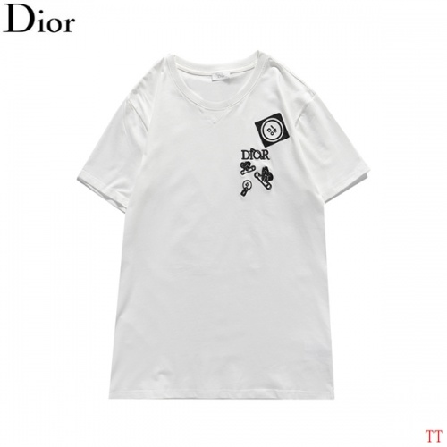 Christian Dior T-Shirts Short Sleeved For Men #839035