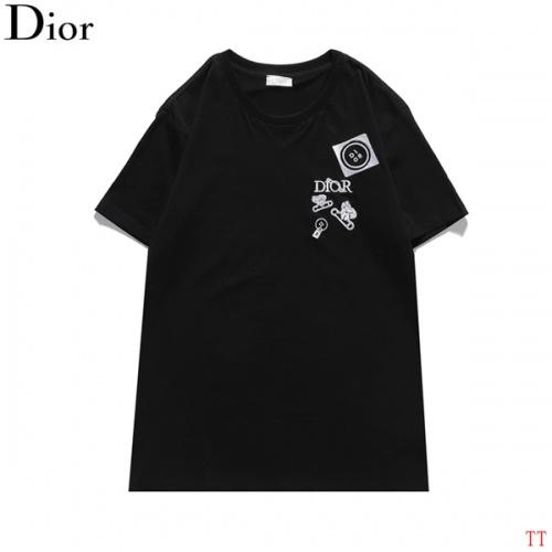 Christian Dior T-Shirts Short Sleeved For Men #839036