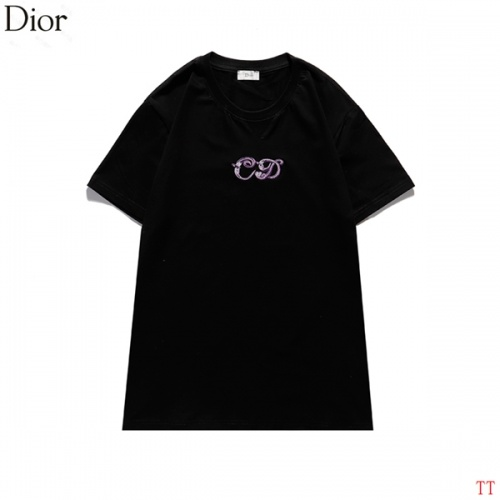 Christian Dior T-Shirts Short Sleeved For Men #839037