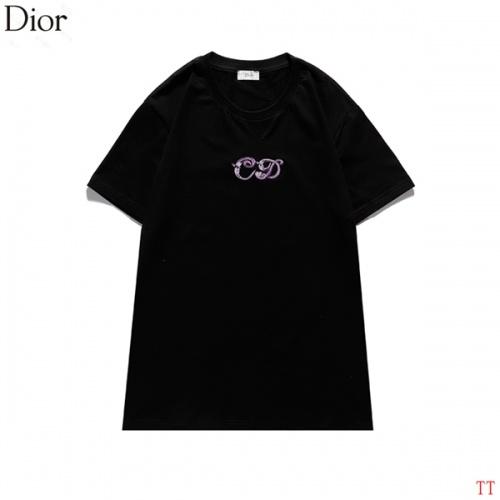 Christian Dior T-Shirts Short Sleeved For Men #839037