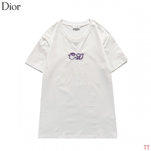 Christian Dior T-Shirts Short Sleeved For Men #839038