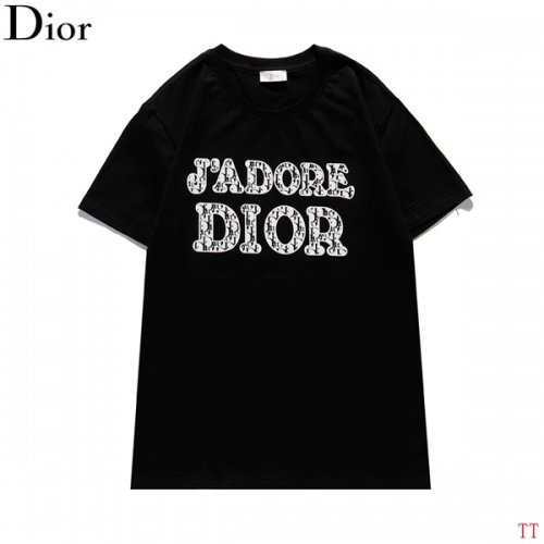 Christian Dior T-Shirts Short Sleeved For Men #839039