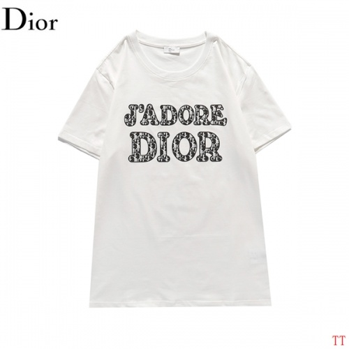 Christian Dior T-Shirts Short Sleeved For Men #839040