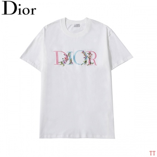 Christian Dior T-Shirts Short Sleeved For Men #839041