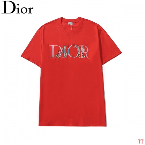 Christian Dior T-Shirts Short Sleeved For Men #839042