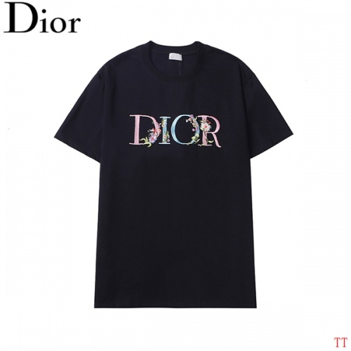 Christian Dior T-Shirts Short Sleeved For Men #839043