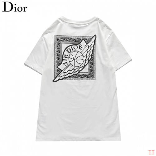 Christian Dior T-Shirts Short Sleeved For Men #839044