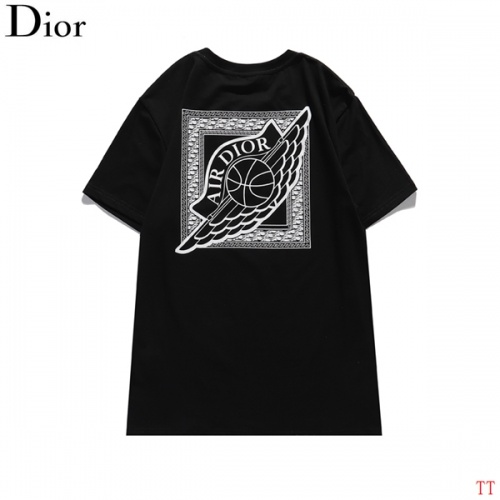Christian Dior T-Shirts Short Sleeved For Men #839045