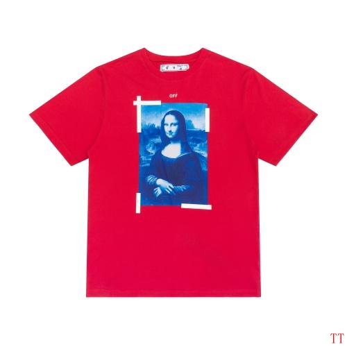 Off-White T-Shirts Short Sleeved For Men #839082