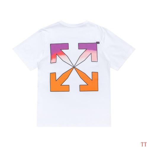 Off-White T-Shirts Short Sleeved For Men #839086