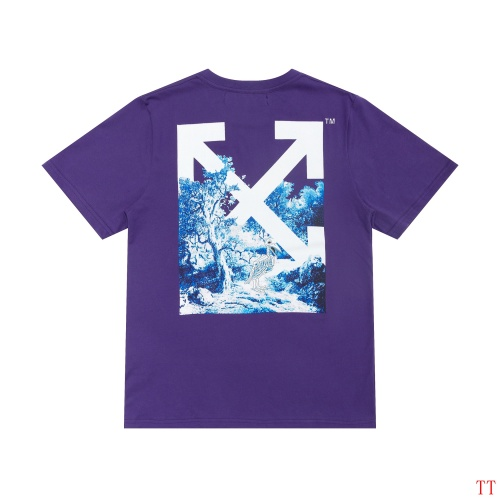 Off-White T-Shirts Short Sleeved For Men #839093