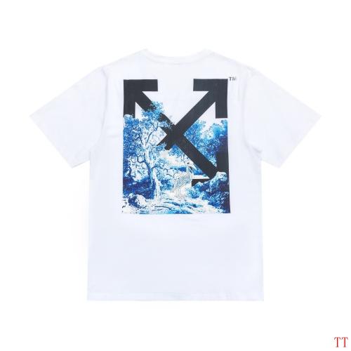 Off-White T-Shirts Short Sleeved For Men #839094