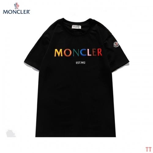 Moncler T-Shirts Short Sleeved For Men #839097