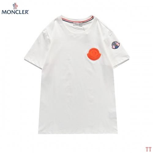 Moncler T-Shirts Short Sleeved For Men #839100