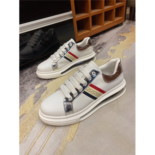 Replica Versace Casual Shoes For Men #839121 $82.00 USD for Wholesale