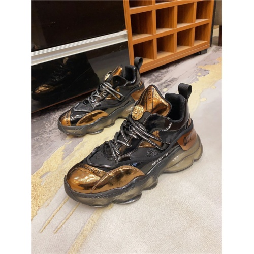Replica Versace Casual Shoes For Men #839122 $85.00 USD for Wholesale